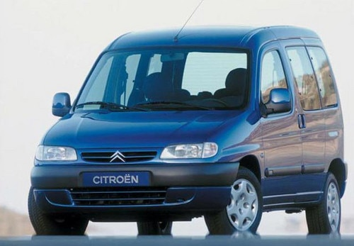 Lancement commercial de la Citroën Berlingo