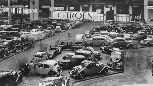 Citroën 7A mit Nouvelle Traction