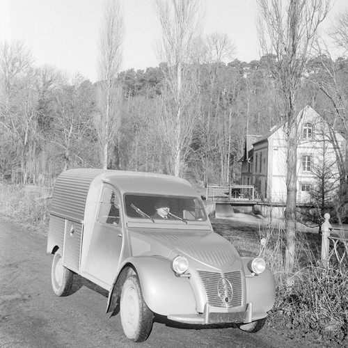 Production de la Citroën 2CV