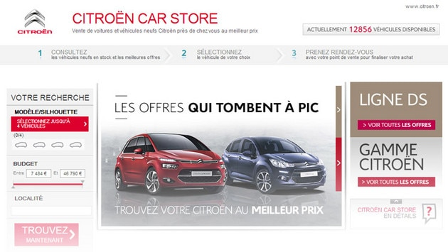 Citroën Carstore
